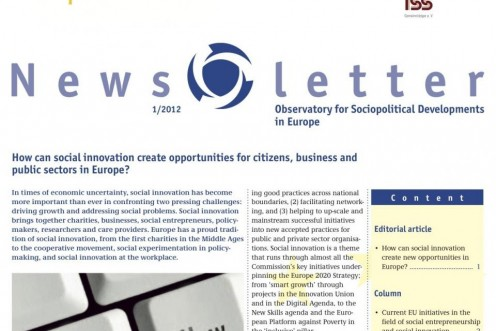 News from the Observatory for Sociopolitcal Developments in Europe